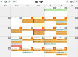 Click to load booking calendar